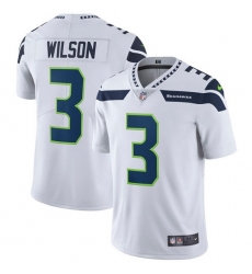 Youth Nike Seattle Seahawks #3 Russell Wilson White Vapor Untouchable Limited Player NFL Jersey