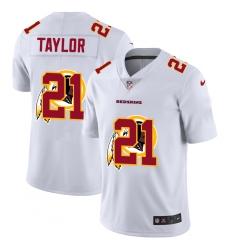 Men's Washington Redskins #21 Sean Taylor White Nike White Shadow Edition Limited Jersey