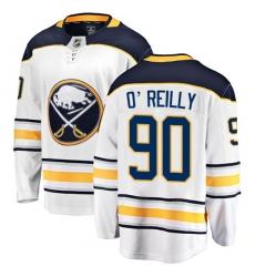 Youth Buffalo Sabres #90 Ryan O'Reilly Fanatics Branded White Away Breakaway NHL Jersey