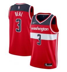 Men's Washington Wizards #3 Bradley Beal Nike Red 2020-21 Swingman Jersey