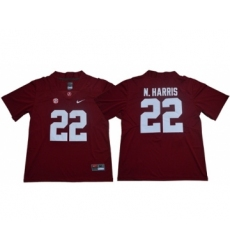 Crimson Tide #22 Najee Harris Red Limited Stitched NCAA Jersey
