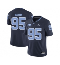 North Carolina Tar Heels 95 Kareem Martin Black College Football Jersey