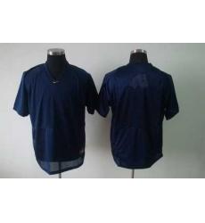 NCAA Michigan Wolverines blank blue football jerseys