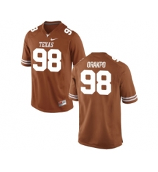Texas Longhorns 98 Brian Orakpo Orange Nike College Jersey