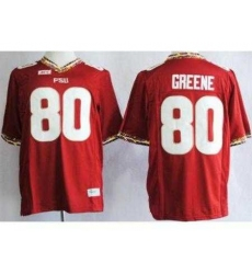 Florida State Seminoles FSU 80 Rashad Greene Red NCAA Jerseys