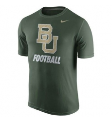 Baylor Bears Nike 2015 Sideline Dri-FIT Legend Logo T-Shirt Green