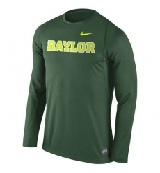 Baylor Bears Nike 2016 Elite Basketball Shooter Long Sleeves Dri-FIT Top Green