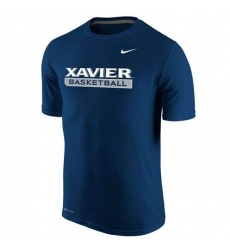 Xavier Musketeers Nike Basketball Legend Practice Performance T-Shirt Blue