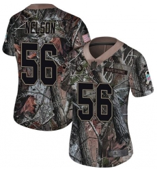 Women's Nike Indianapolis Colts #56 Quenton Nelson Limited Camo Rush Realtree NFL Jersey