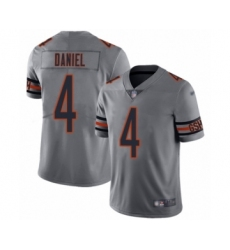 Youth Chicago Bears #4 Chase Daniel Limited Silver Inverted Legend Football Jersey