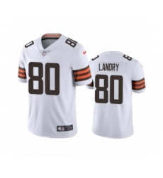 Cleveland Browns #80 Jarvis Landry White 2020 Vapor Limited Jersey