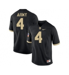 Army Black Knights 4 Cam Thomas Black College Football Jersey