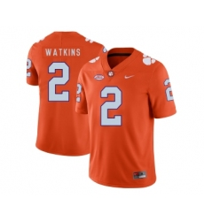 Clemson Tigers 2 Sammy Watkins Orange Nike College Football Jersey