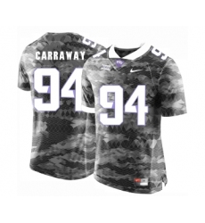 TCU Horned Frogs 94 Josh Carraway Gray College Football Limited Jersey