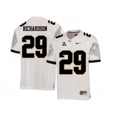UCF Knights 29 Cordarrian Richardson White College Football Jersey