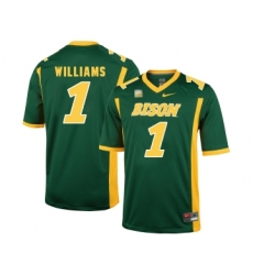 North Dakota State Bison 1 Marcus Williams Green College Football Jersey