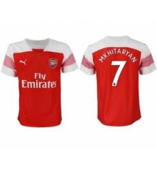 2018-19 Arsenal 7 MKHITARYAN Home Thailand Soccer Jersey