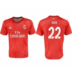 2018-19 Real Madrid 22 ISCO Third Away Thailand Soccer Jersey