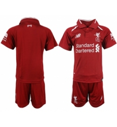 2018-19 Liverpool Home Youth Soccer Jersey