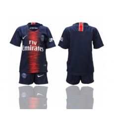 2018-19 Paris Saint-Germain Home Youth Soccer Jersey