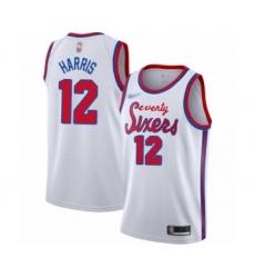 Women's Philadelphia 76ers #12 Tobias Harris Swingman White Hardwood Classics Basketball Jersey