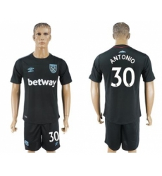 West Ham United #30 Antonio Away Soccer Club Jersey