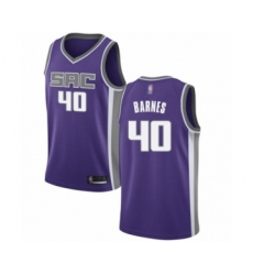 Women's Sacramento Kings #40 Harrison Barnes Swingman Purple Basketball Jersey - Icon Edition