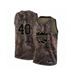 Youth Sacramento Kings #40 Harrison Barnes Swingman Camo Realtree Collection Basketball Jersey