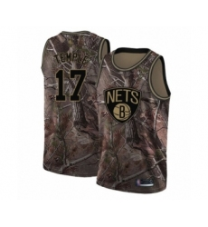 Men's Brooklyn Nets #17 Garrett Temple Swingman Camo Realtree Collection Basketball Jersey