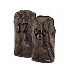 Youth Brooklyn Nets #17 Garrett Temple Swingman Camo Realtree Collection Basketball Jersey