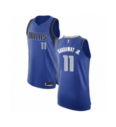 Men's Dallas Mavericks #11 Tim Hardaway Jr. Authentic Royal Blue Basketball Jersey - Icon Edition