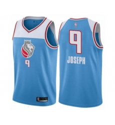 Men's Sacramento Kings #9 Cory Joseph Authentic Blue Basketball Jersey - City Edition