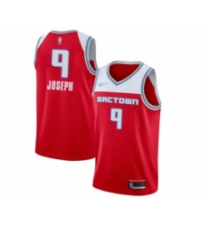 Men's Sacramento Kings #9 Cory Joseph Swingman Red Basketball Jersey - 2019-20 City Edition