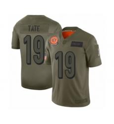 Women's Cincinnati Bengals #19 Auden Tate Limited Camo 2019 Salute to Service Football Jersey