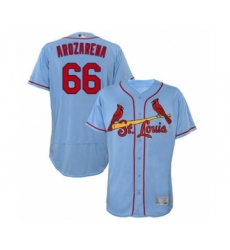 Men's St. Louis Cardinals #66 Randy Arozarena Light Blue Alternate Flex Base Authentic Collection Baseball Player Jersey