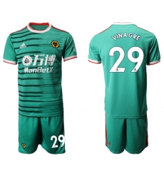 Wolves #29 Vinagre Third Soccer Club Jersey