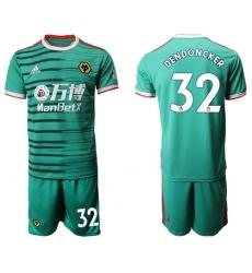 Wolves #32 Dendoncker Third Soccer Club Jersey
