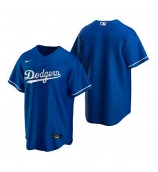 Men's Nike Los Angeles Dodgers Blank Royal Alternate Stitched Baseball Jersey