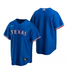 Men's Nike Texas Rangers Blank Royal Alternate Stitched Baseball Jersey