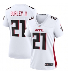 Women's Atlanta Falcons #21 Todd Gurley II Nike White Game Jersey.webp
