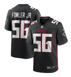 Men's Atlanta Falcons #56 Dante Fowler Jr. Nike Black Game Jersey