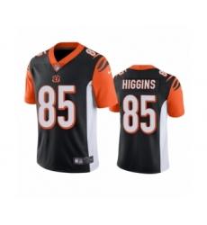 Cincinnati Bengals #85 Tee Higgins Black 2020 NFL Draft Vapor Limited Jersey