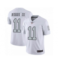 Men's Oakland Raiders #11 Henry Ruggs III Las Vegas Limited White Color Rush Jersey