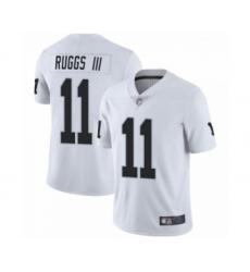 Men's Oakland Raiders #11 Henry Ruggs III Las Vegas Limited White Vapor Untouchable Jersey