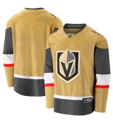 Men's Vegas Golden Knights Fanatics Branded Gold 2020-21 Alternate Premier Break away Jersey