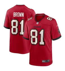 Men's Tampa Bay Buccaneers #81 Antonio Brown Nike Red Limited Jersey