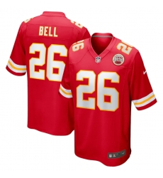 Men's Kansas City Chiefs #26 Le'Veon Bell Nike Red Limited Jersey