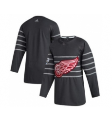 Men's Detroit Red Wings Blank Gray 2020 Hockey All-Star Game Authentic Jersey