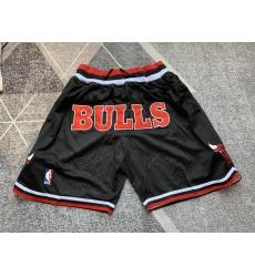 Men's Chicago Bulls Black Shorts