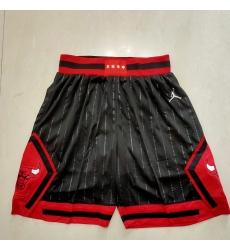 Men's Chicago Bulls Black stripe Shorts